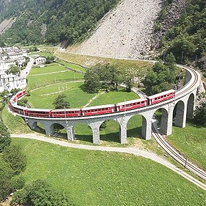 BERNINA EXPRESS RAILWAY